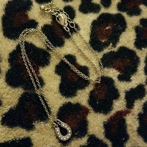 Jewelry - Silver horse shoe necklace